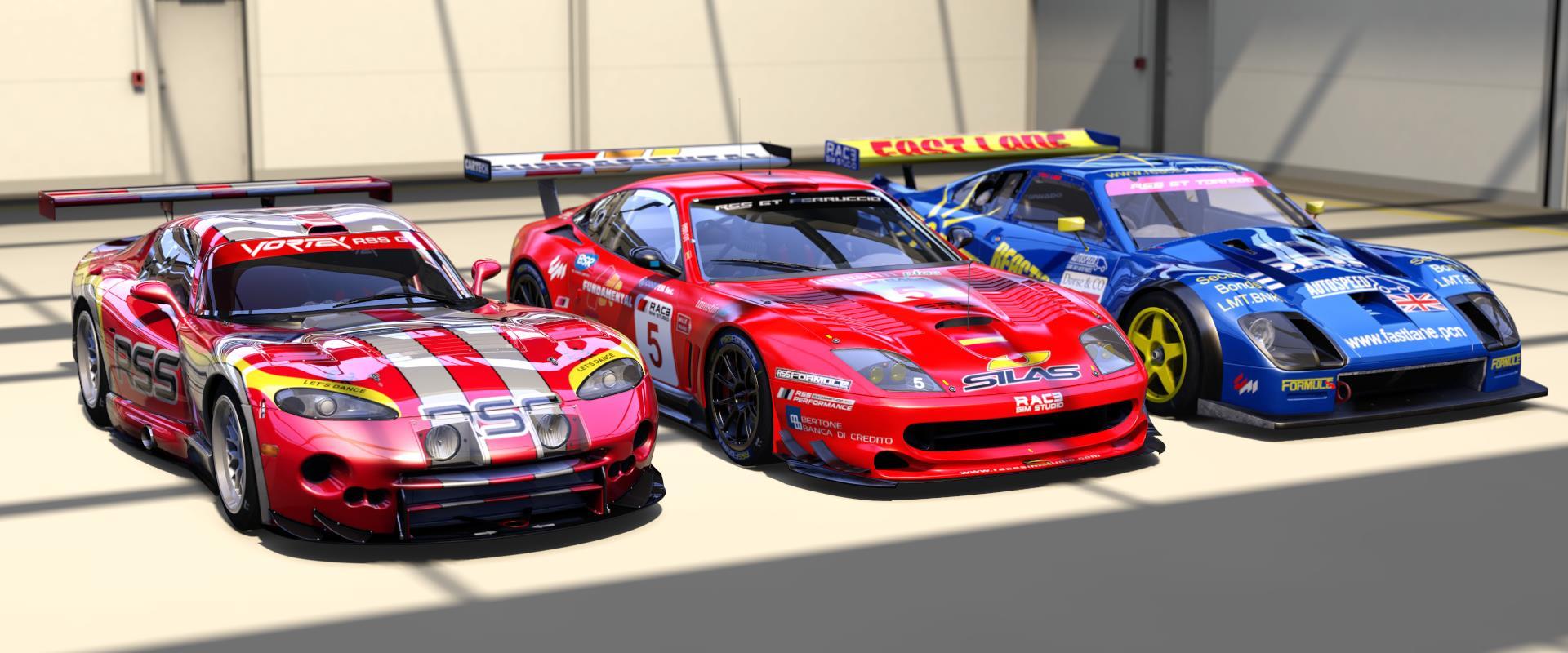 RSS GT Mod release date - Saturday 23rd - RaceSimStudio