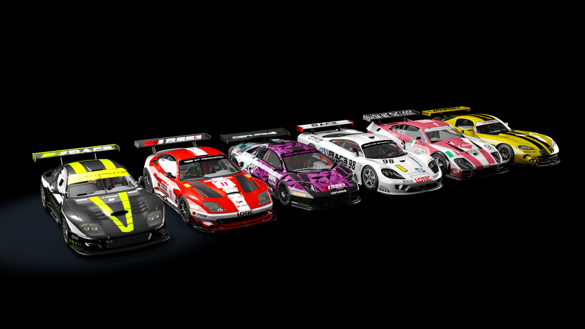 RSS GT Pack is finally complete! Ferruccio 57 now available